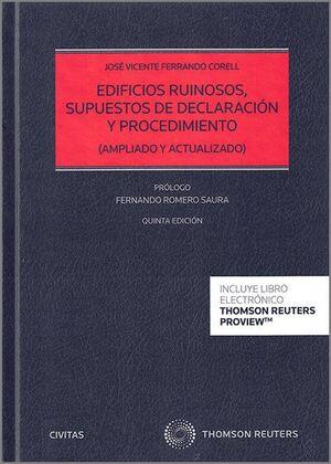 EDIFICIOS RUINOSOS, SUPUESTOS DE DECLARACIÓN Y PROCEDIMIENTO