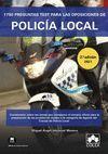 1750 PREGUNTAS TEST OPOSICIONES DE POLICIA LOCAL